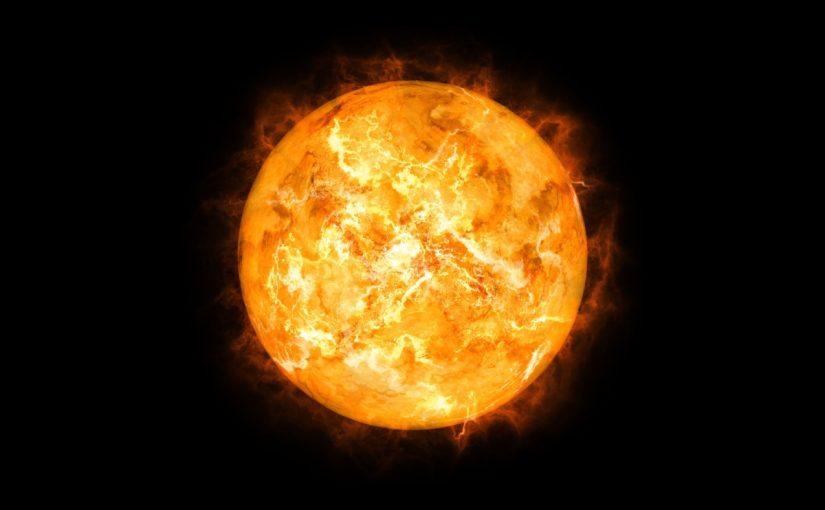 تتدفق البلازما من الهالة الشمسية إلى الخارج بسرعات عالية وتكون