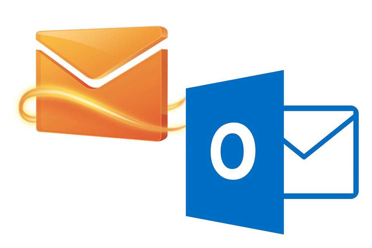 الفرق بين Hotmail و Outlook