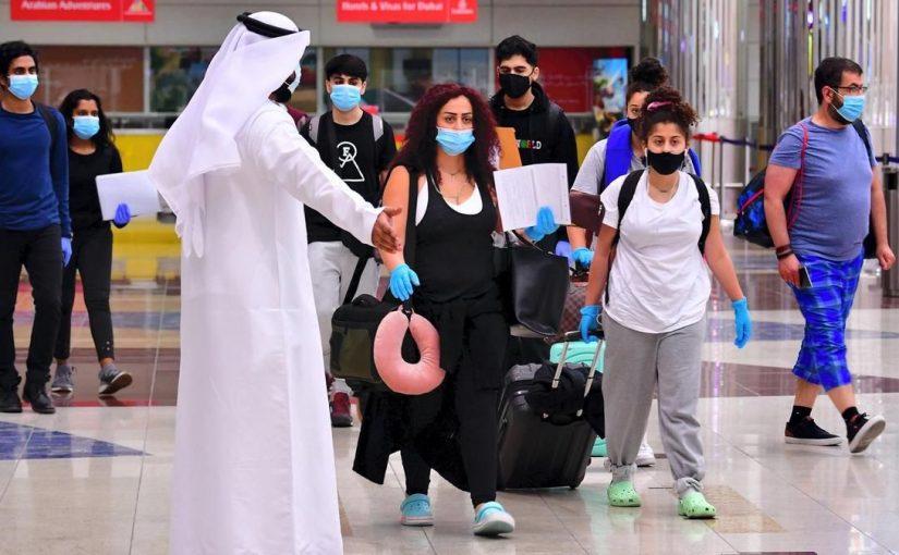 إجراءات دخول أبوظبي من دبي