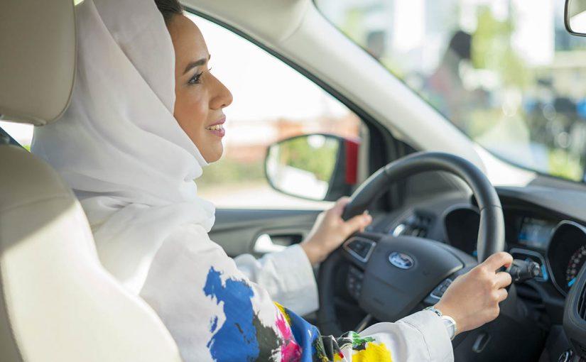 تسجيل رخصة قيادة للنساء
