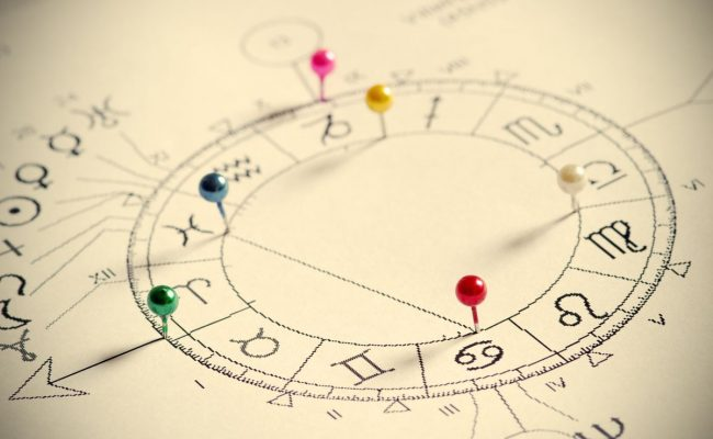 كيف اعرف الطالع من الخريطه الفلكية