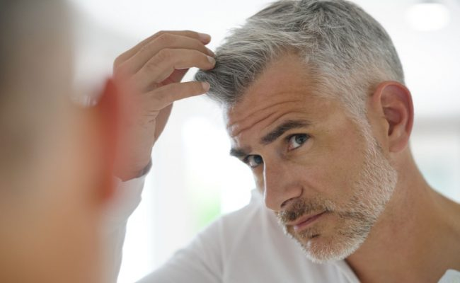 علاج الشعر الابيض من الصيدلية
