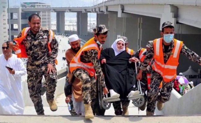 جهود رجال الأمن في الحج