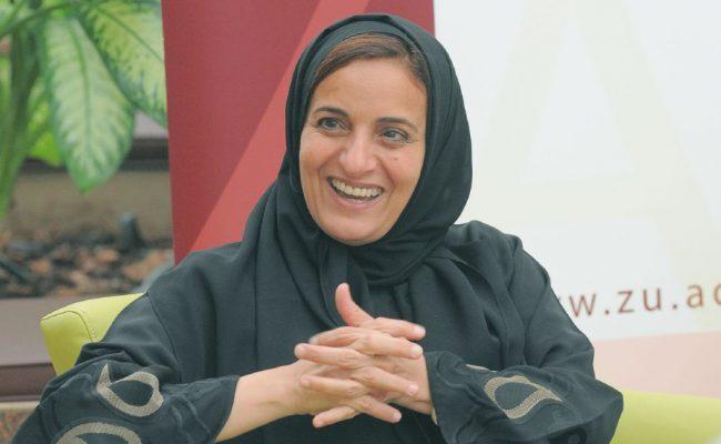 من هي اول وزيرة في الامارات