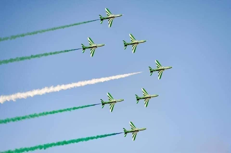 العروض الجوية العسكرية
