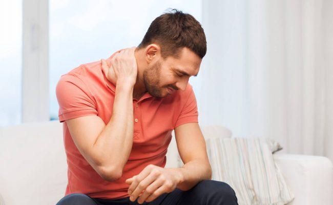 علاج عصبة الرقبة والكتف