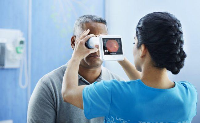 علاج نزيف العين لمرضى السكر
