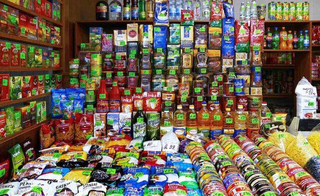 أسماء محلات مواد غذائية